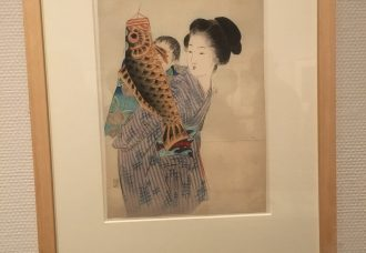 Japanese print by Takeuchi Keishu